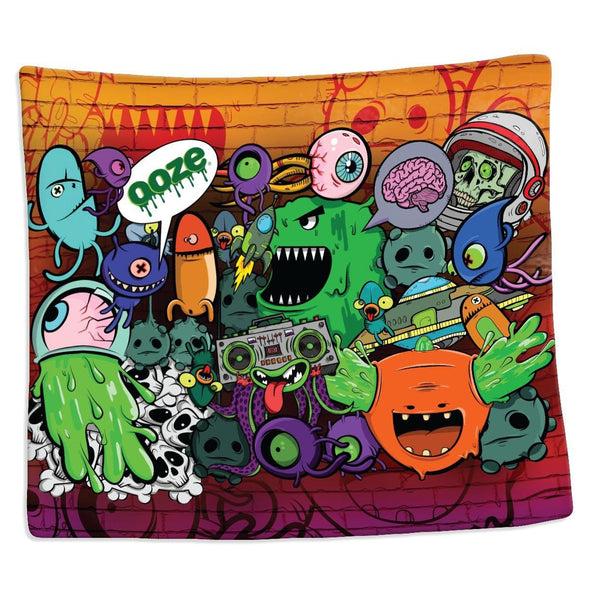 Ooze Monstrosity Silk Touch Blanket