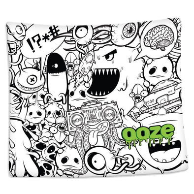 Ooze Monsterous Silk Touch Blanket