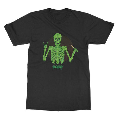 Ooze Disrupt Skeleton Mens T- Shirt T-Shirts