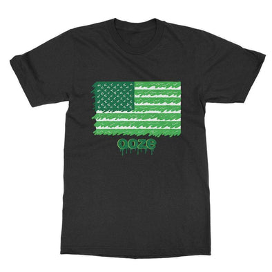 Ooze Flag Mens T-Shirt T-Shirts