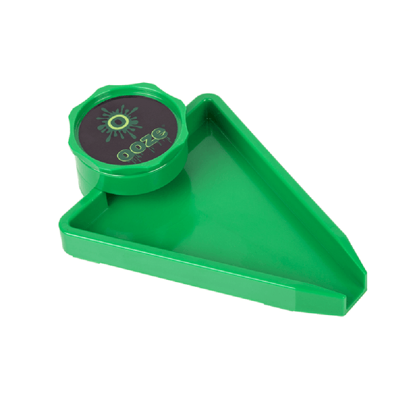 Ooze Grinder Tray - Green Grinders