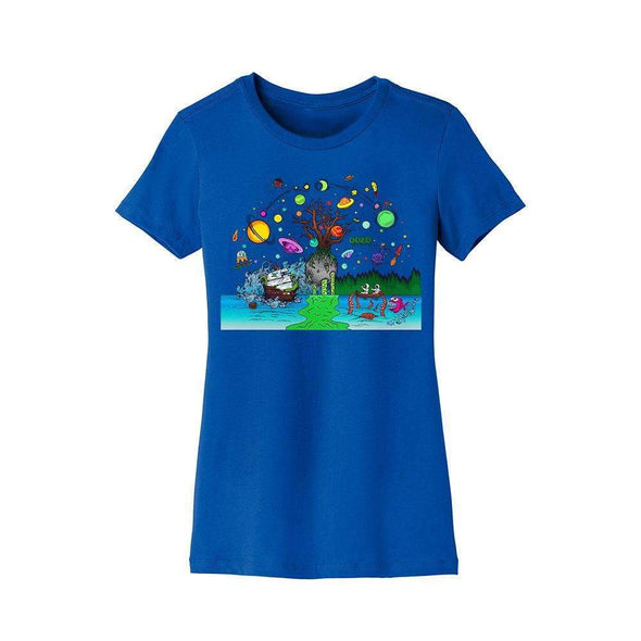 Ooze Tree Of Life Womens T-Shirt T-Shirts