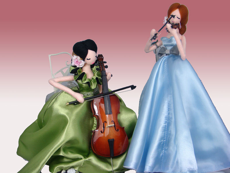 Violin and Cello Duet - PitaPats.com