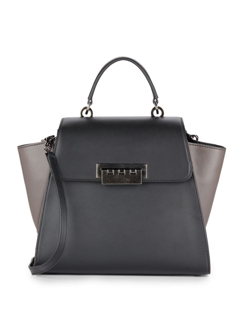 ZAC Zac Posen Eartha Colorblock Leather Satchel - PitaPats.com