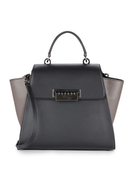 ZAC Zac Posen Eartha Colorblock Leather Satchel