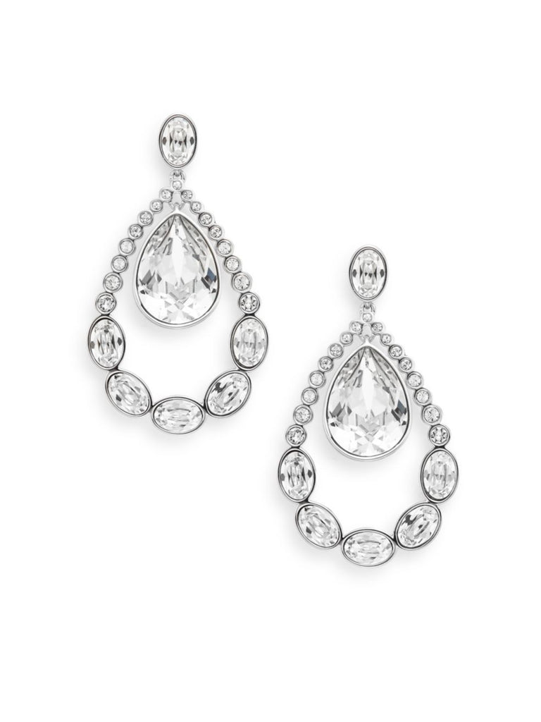 Swarovski Crystal Teardrop Drop Earrings
