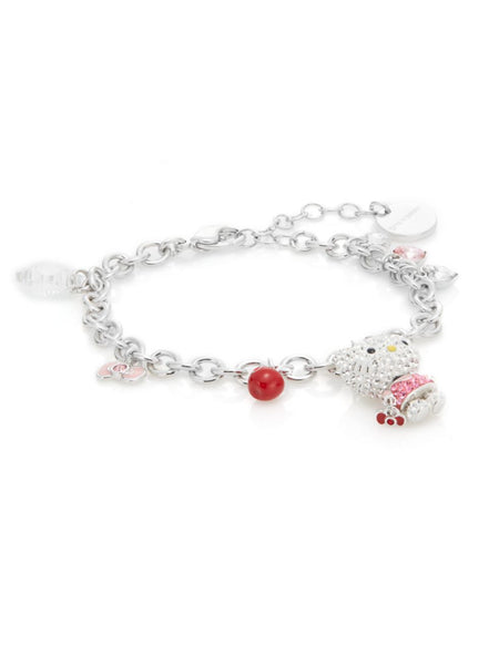 Swarovski Hello Kitty Crystal Charm Bracelet