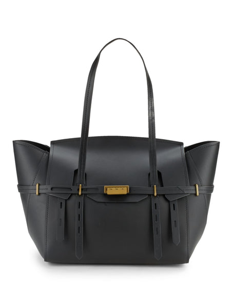 ZAC Zac Posen Eartha Belted Satchel - BLACK