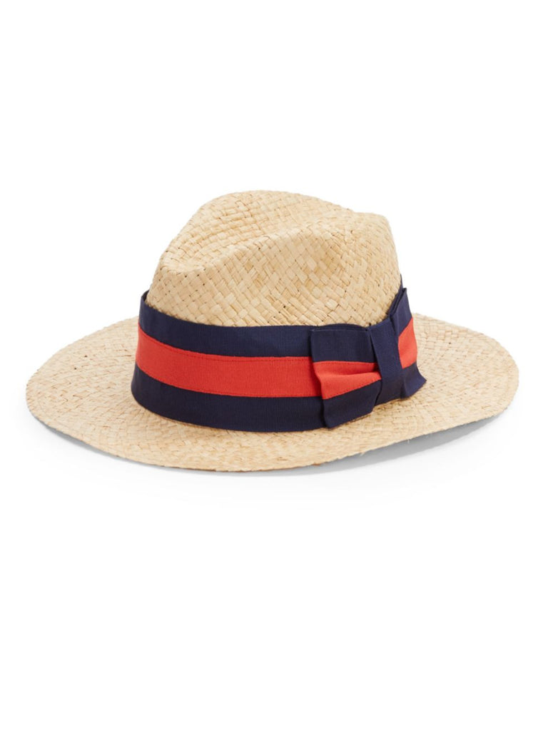 Saks Fifth Avenue Made in Italy Straw Hat - PitaPats.com