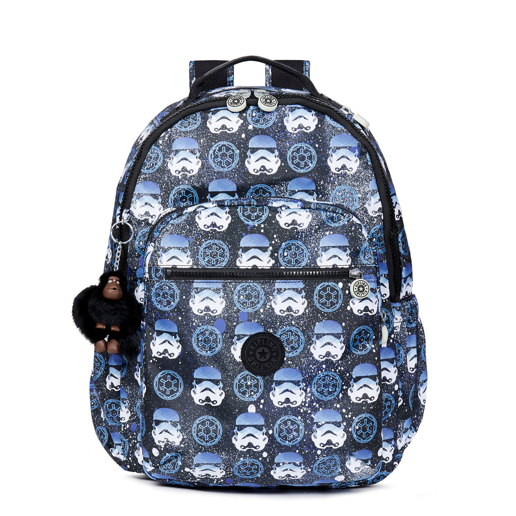 "Kipling SEOUL GO Star Wars Large Printed 15"" Laptop Backpack"