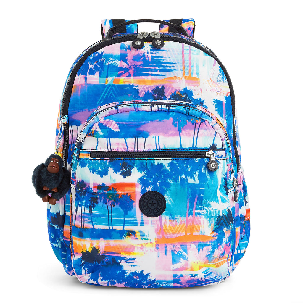 "Kipling Seoul Go Extra Large Printed 15"" Laptop Backpack"