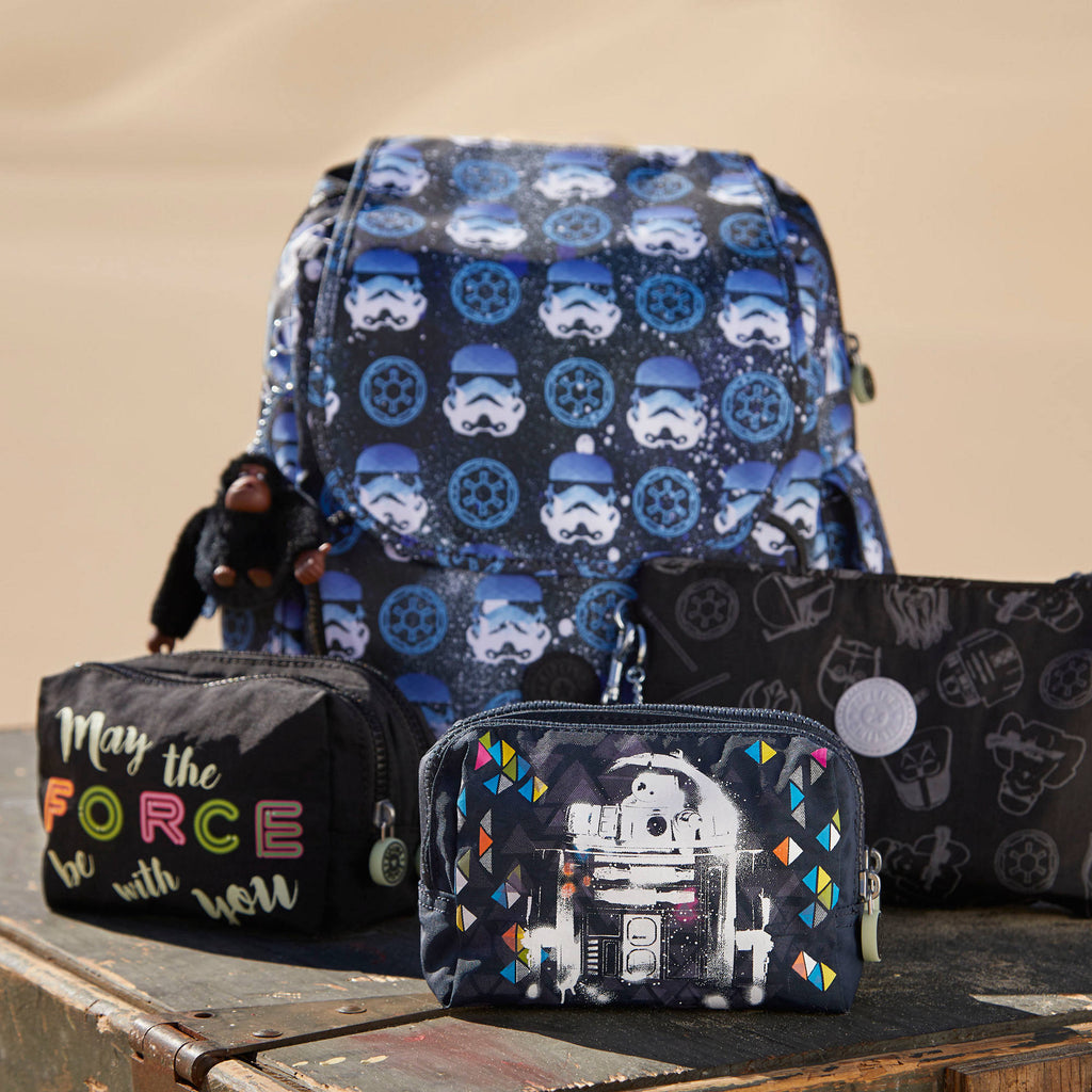 kipling Ellettronico Star Wars Large Reflective Cosmetic