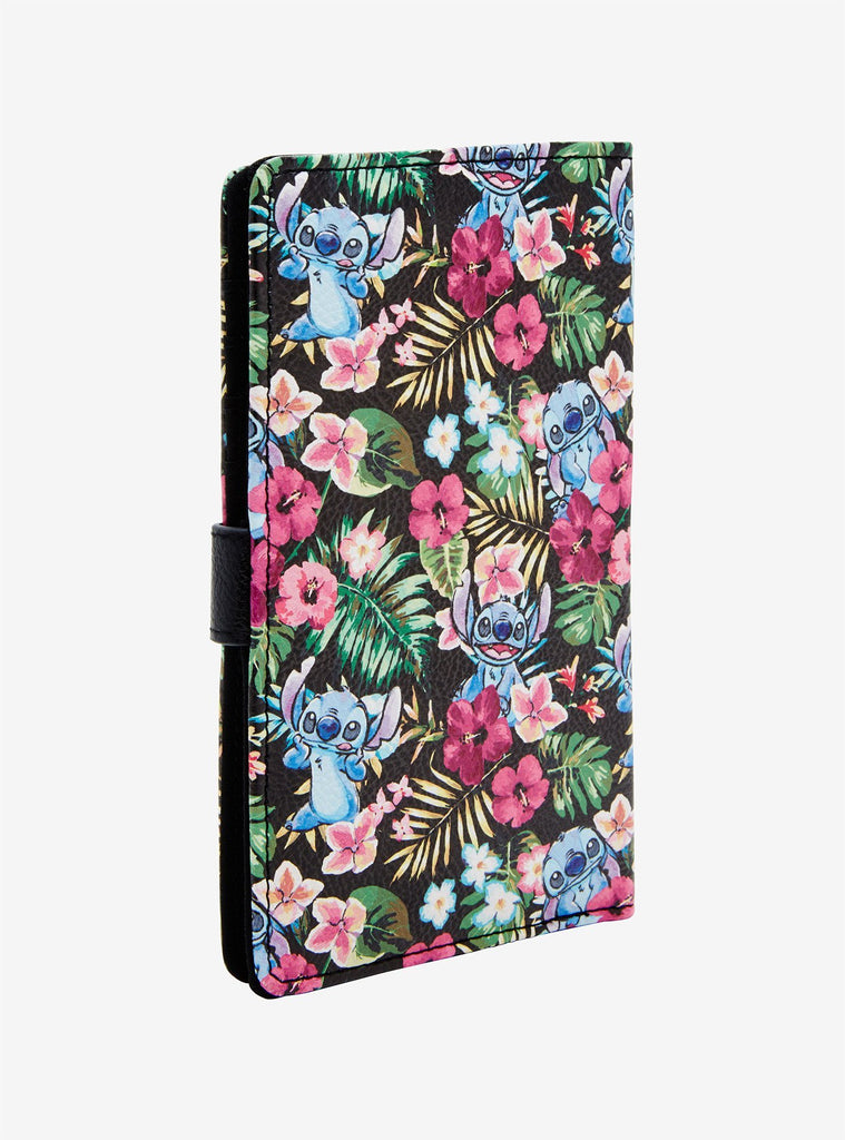 DISNEY LILO & STITCH FLORAL STITCH BOOK WALLET - PitaPats.com
