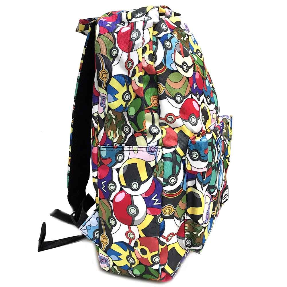 Loungefly x Pokemon Pokeball AOP Backpack