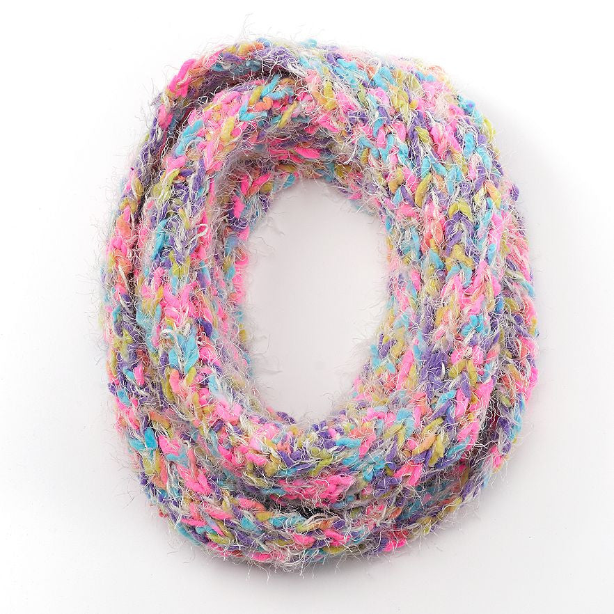 Girls SO® Space-Dyed Infinity Scarf - PitaPats.com
