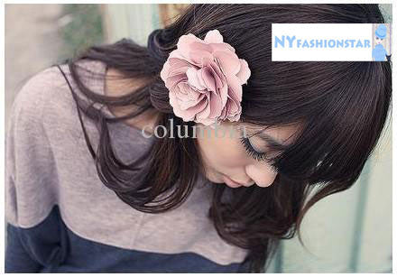 Camelia Flower Clip on Hair piece - PitaPats.com