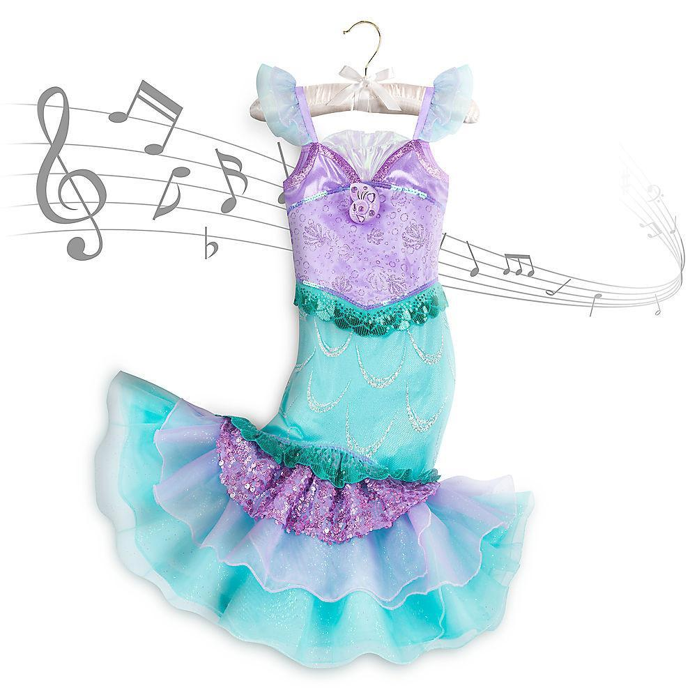 Disney Ariel Costume Kids with music - PitaPats.com