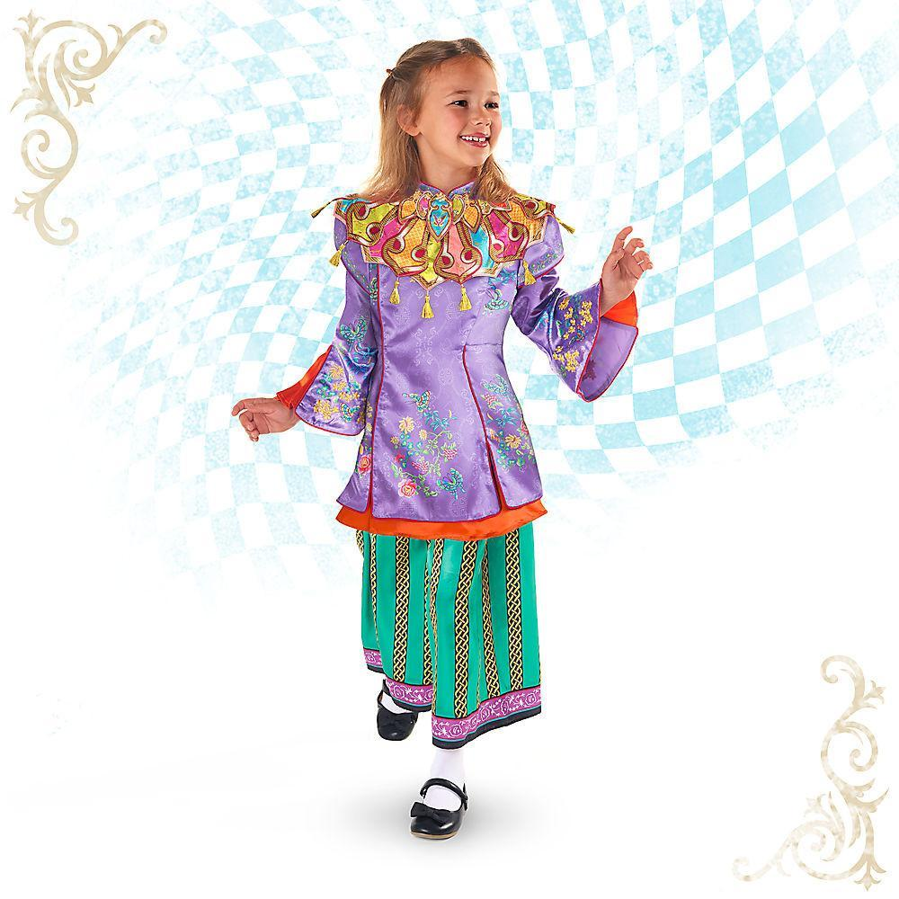Disney Alice Through the Looking Glass Deluxe Costume for Kids - PitaPats.com