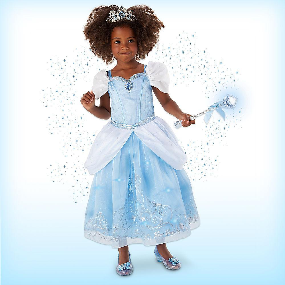 Disney Cinderella Interactive Deluxe Costume Set for Kids - PitaPats.com