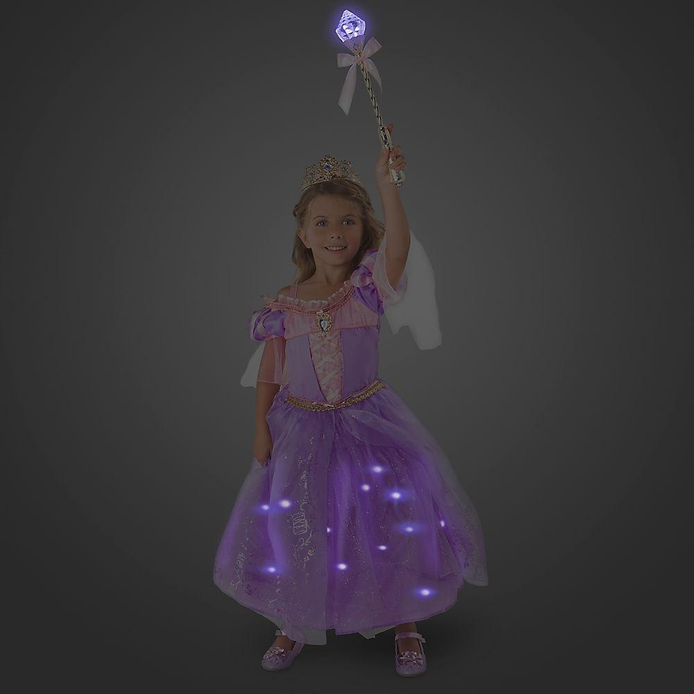 Disney Rapunzel Interactive Deluxe Costume Set for Kids - PitaPats.com