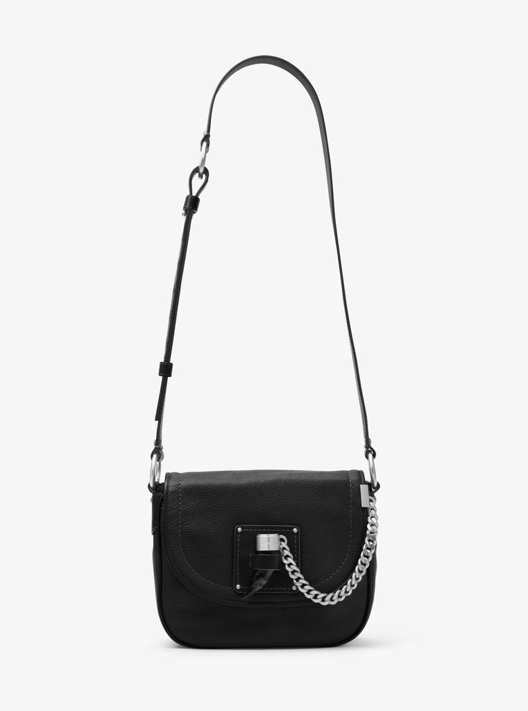 MICHAEL KORS James Medium Leather Saddlebag - PitaPats.com