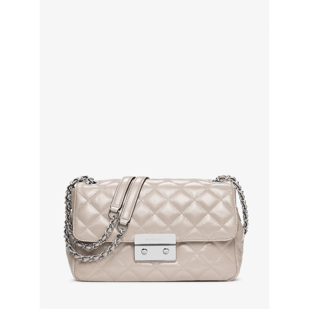 MICHAEL KORS Sloan Large Quilted-Leather Shoulder Bag - PitaPats.com