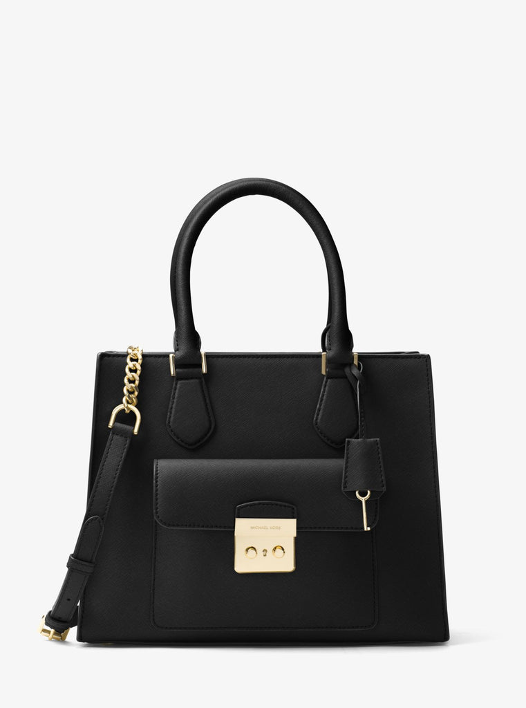 MICHAEL KORS Bridgette Medium Saffiano Leather Tote - PitaPats.com