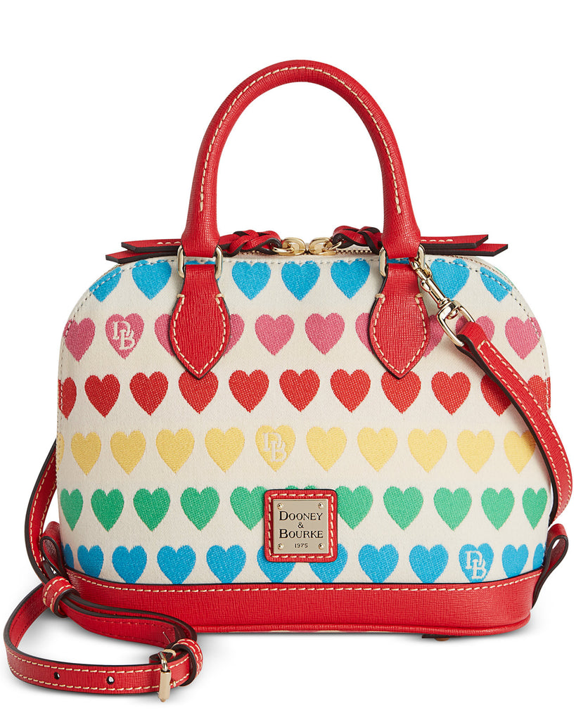 Dooney & Bourke Bitsy Zip Zip Satchel Bag - PitaPats.com