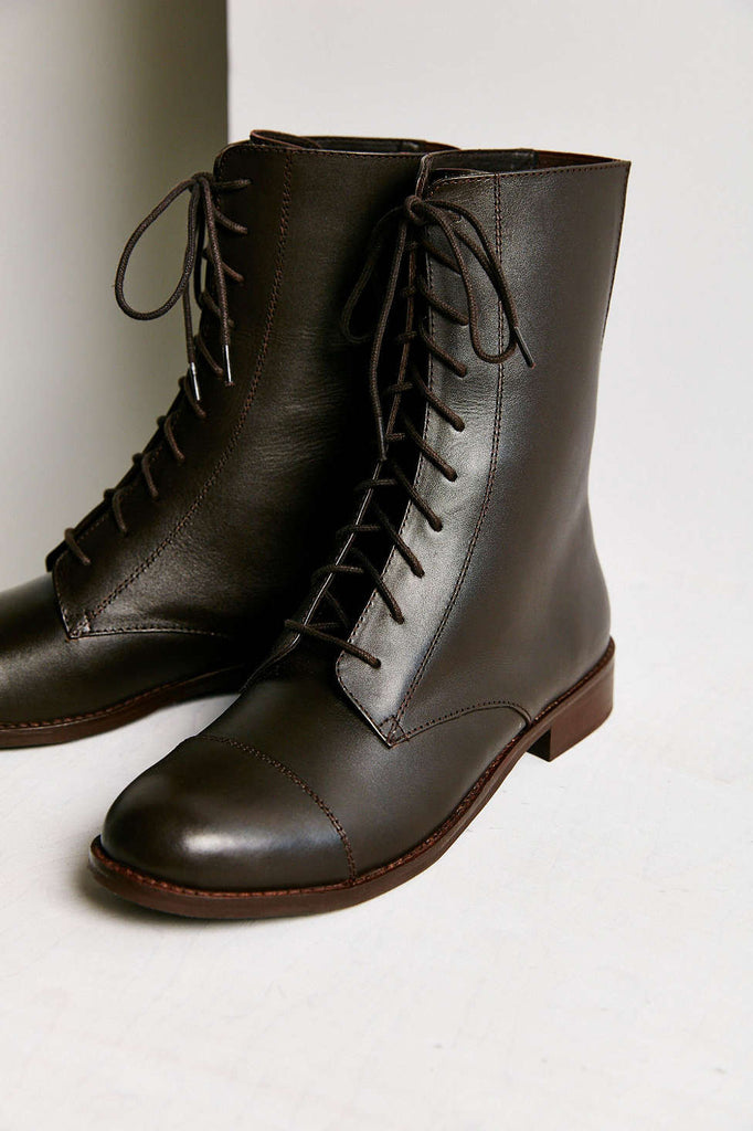 Urban outfitters Louis Mid Lace-up Boot in Brown - Size 9 - PitaPats.com