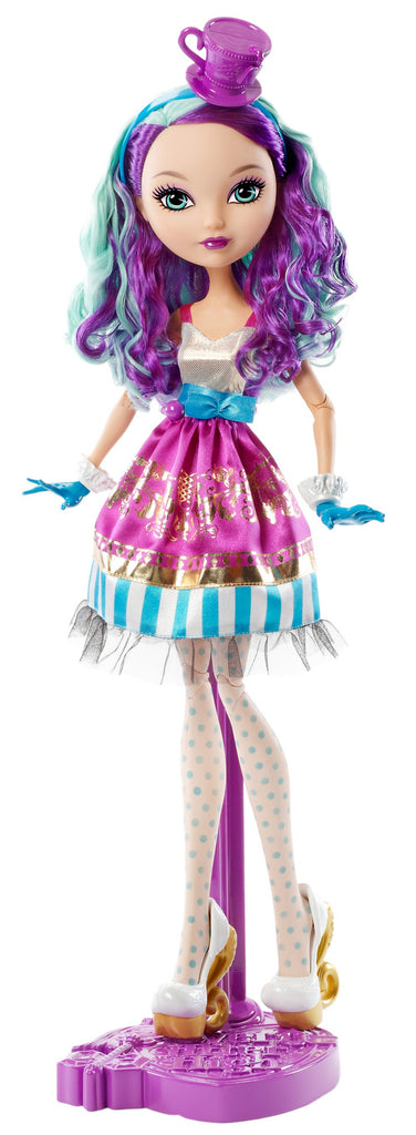 "Ever After High Way To Wonderland Madeline Hatter 17"" Doll - PitaPats.com"