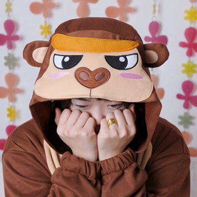 PITaPATs kids onesie animal jumpsuit costume - long sleeve gorilla - PitaPats.com
