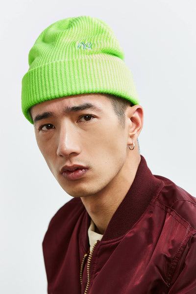 47 Brand X UO New York Lime Beanie