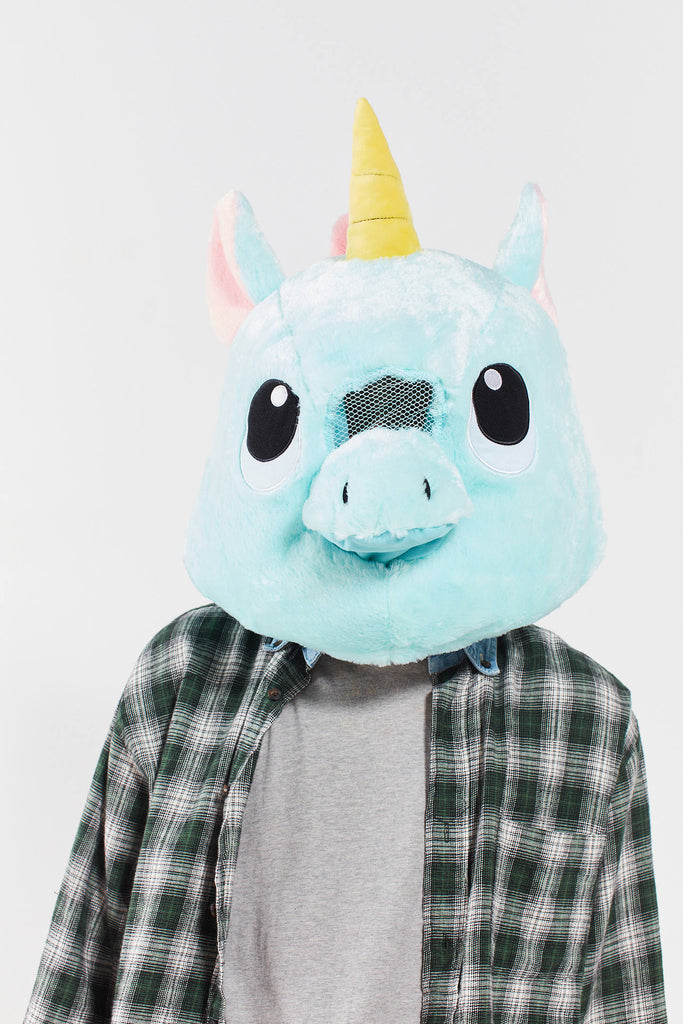 Giant Unicorn MASCOT HEAD