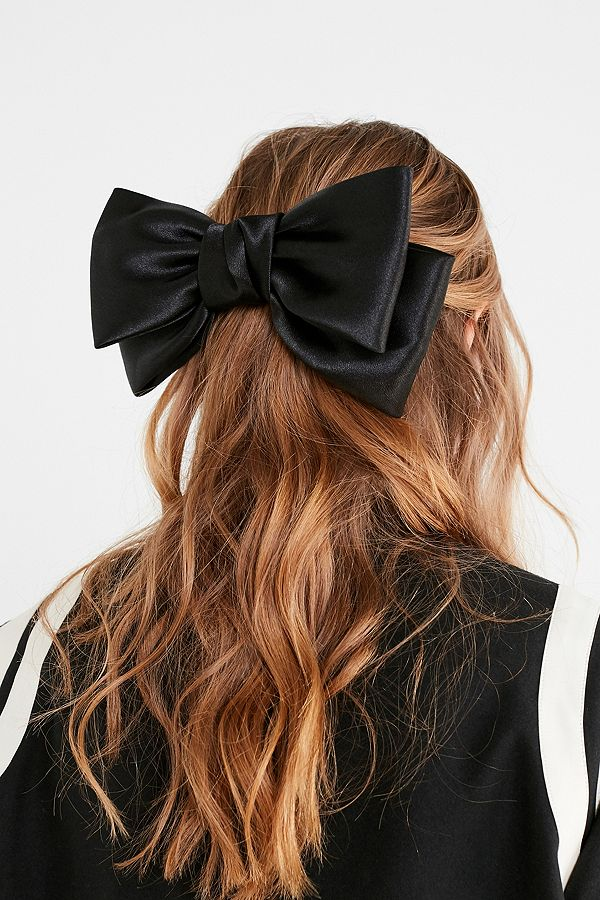 Sophie Satin Bow Hair Clip