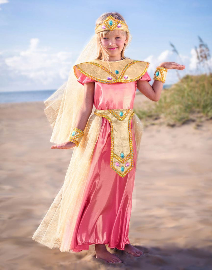 GIRLS Egyptian PRINCESS CLEO COSTUME - PitaPats.com
