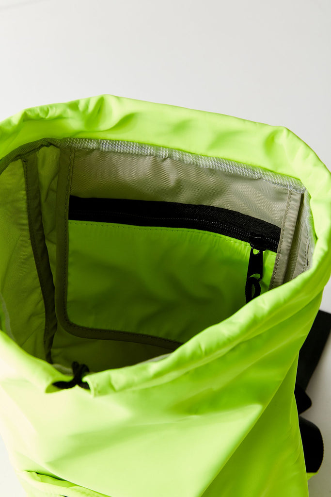 Peters Mountain Works Pearl Backpack Neon Yellow Florescent