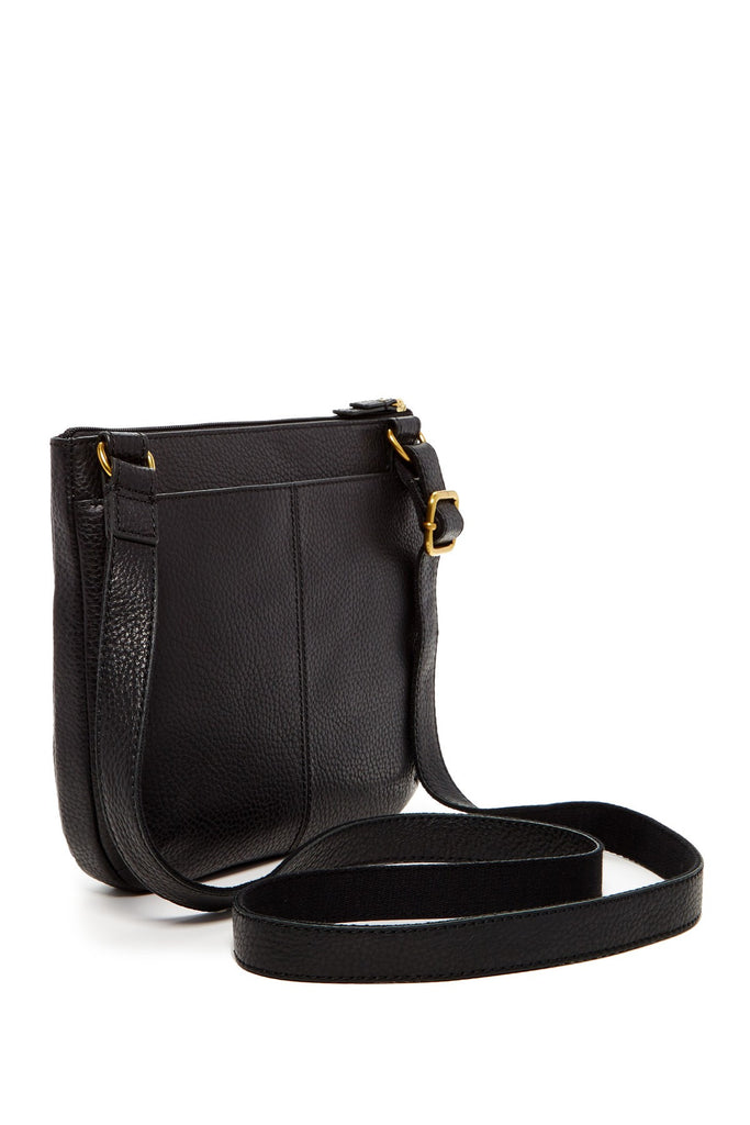 Fossil Tessa Zip Top Leather Crossbody - PitaPats.com
