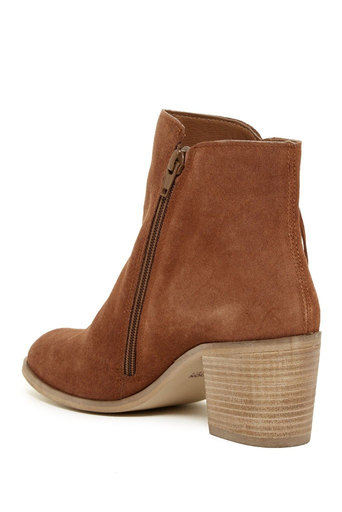 KENNETH COLE REACTION Suede Fringe Bootie - PitaPats.com