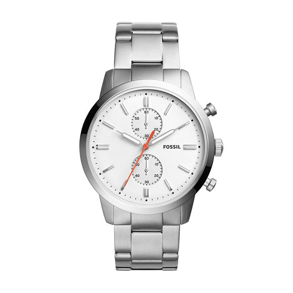 Fossil Townsman 44mm Chronograph Stainless Steel Watch