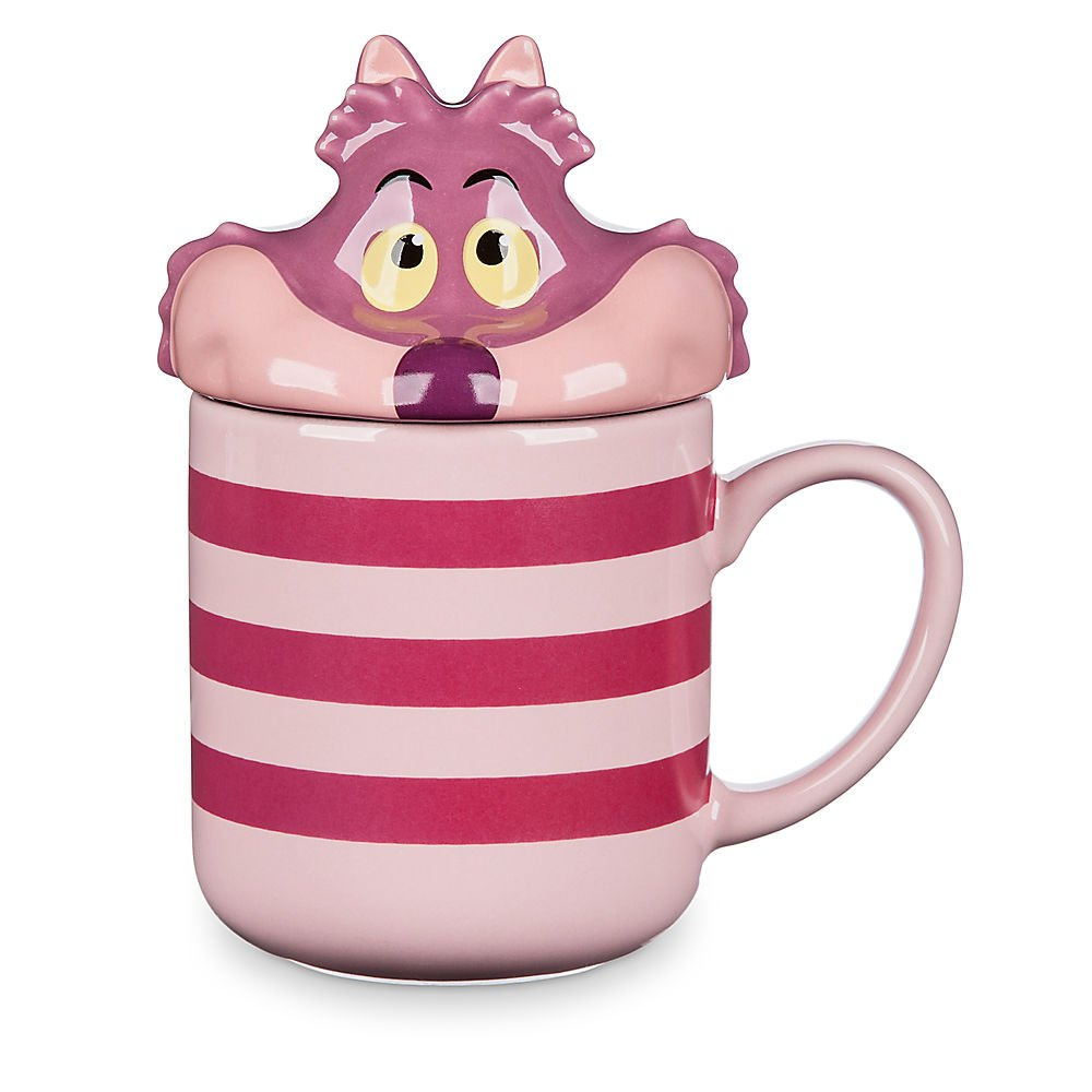 Disney Cheshire Cat Peek-a-Boo Lid Mug