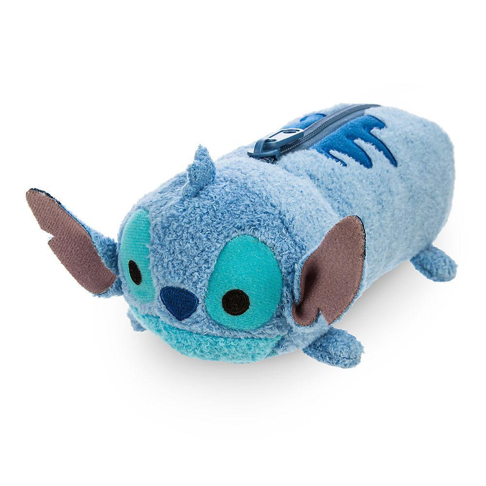 Disney Stitch ''Tsum Tsum'' Plush Pencil Case - 8'' - PitaPats.com