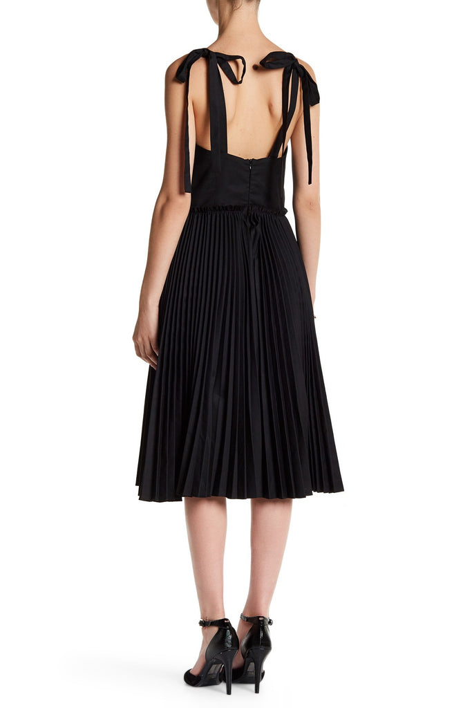 Few Moda Turn Up the Pleat Midi Dress - PitaPats.com