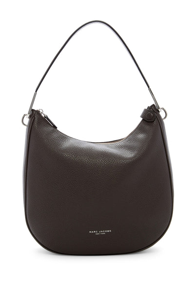 Marc Jacobs The Essential Leather Hobo - ALUMINUM