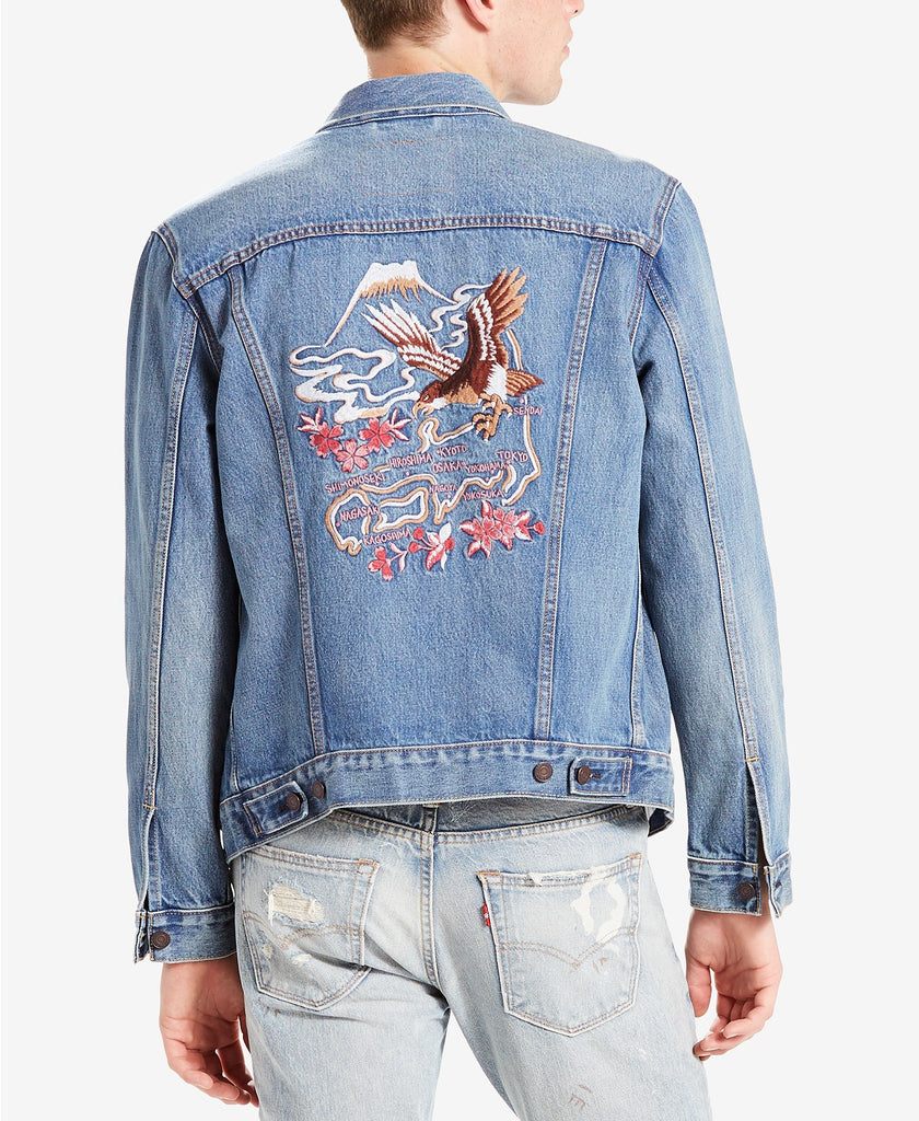 Levi's® Limited Men's Embroidered Trucker Jacket