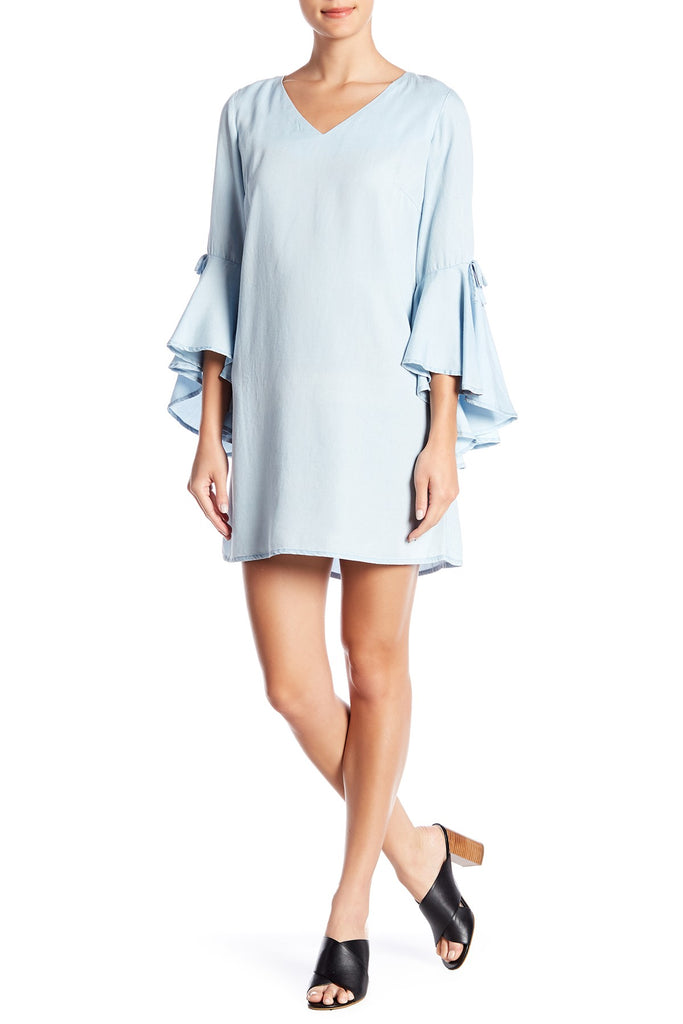 Sharagano Hope N Harlow Long Sleeve Top Dress