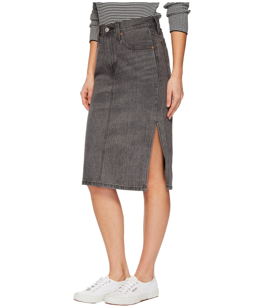 Levi's® Premium Premium Side Slit Skirt