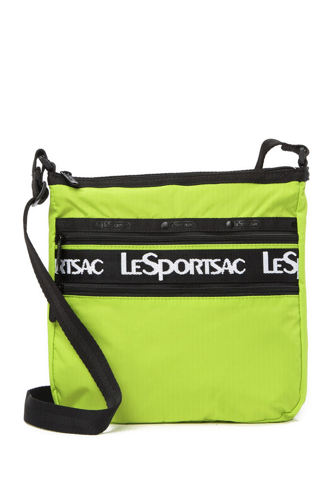 LeSportsac Candace North South Crossbody Bag - ACID GREEN