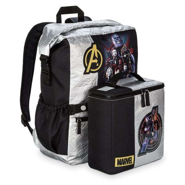 Disney Marvel's Avengers: Infinity War Silver Backpack - PitaPats.com