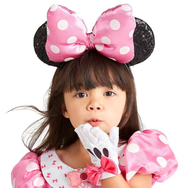 Disney Minnie Mouse Ear Headband for Kids - Pink - PitaPats.com