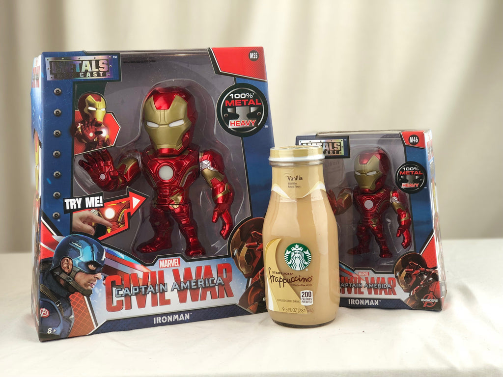 MARVEL CAPTAIN AMERICA: CIVIL WAR IRON MAN 6 INCH DIE-CAST METAL FIGURE